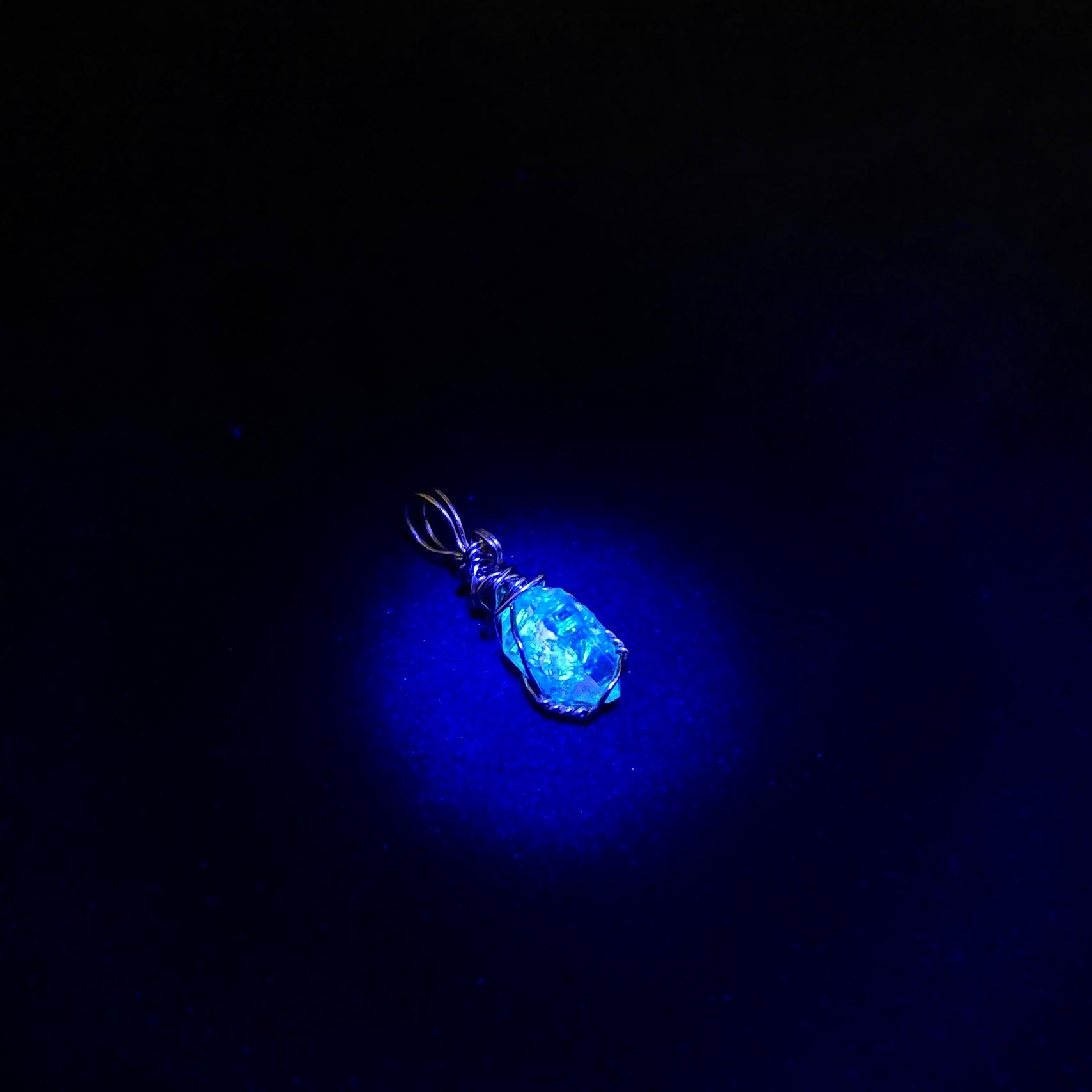 ダイヤモンド ネックレス 一粒 ジュエリー ダイヤモンドクオーツ ハーキマーダイヤモンド オイル入り