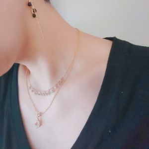 ネックレス おすすめ 選び方 華奢 ゴールド