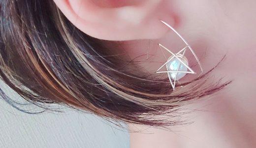 星 ピアス パール スター star jewelry  ジュエリー スター