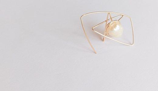 星のピアス✧パールで彩るstar bright jewelry