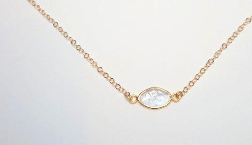スライスダイヤモンドネックレス|数量限定販売!